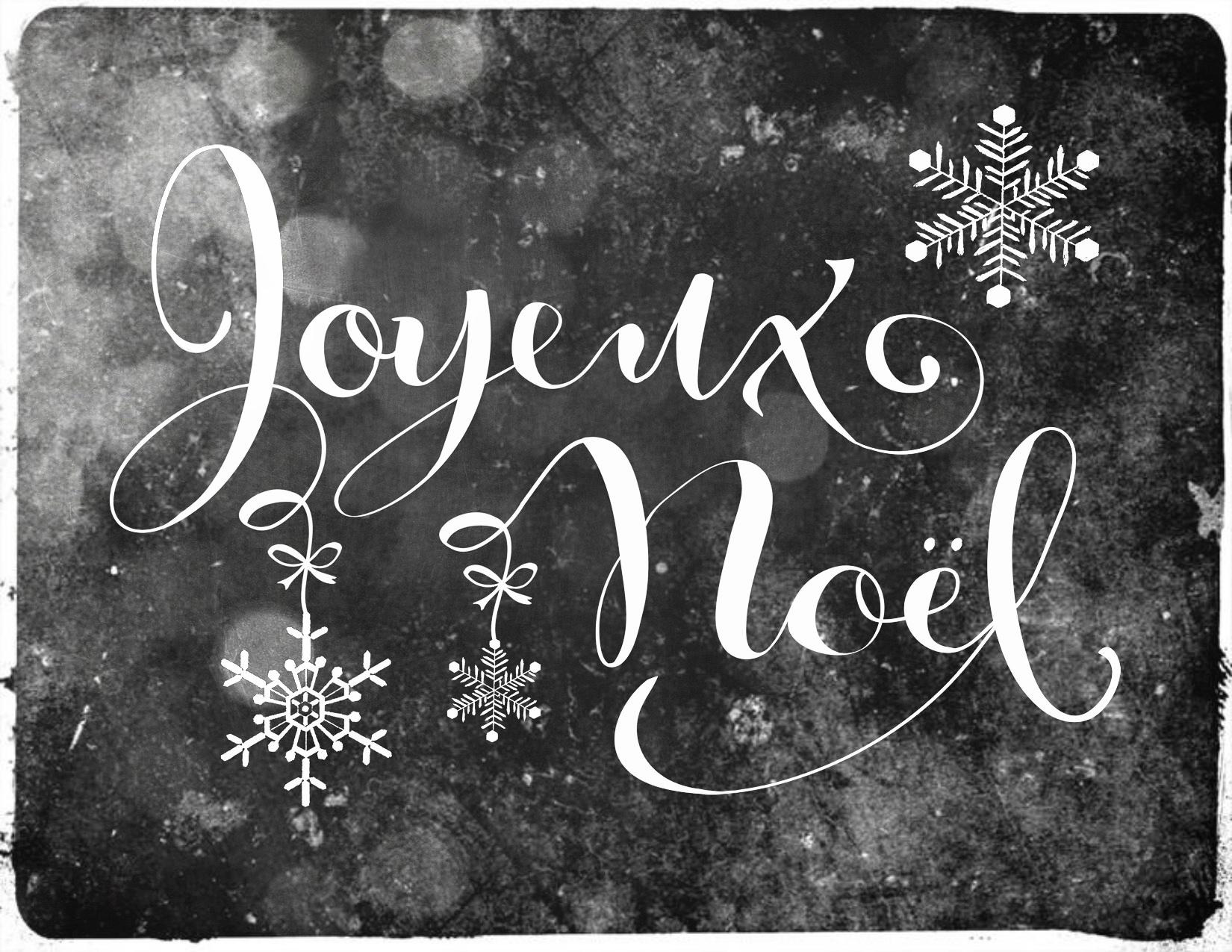 Joyeux no l 2013 bbb 39 s mum - Joyeux noel noir et blanc ...