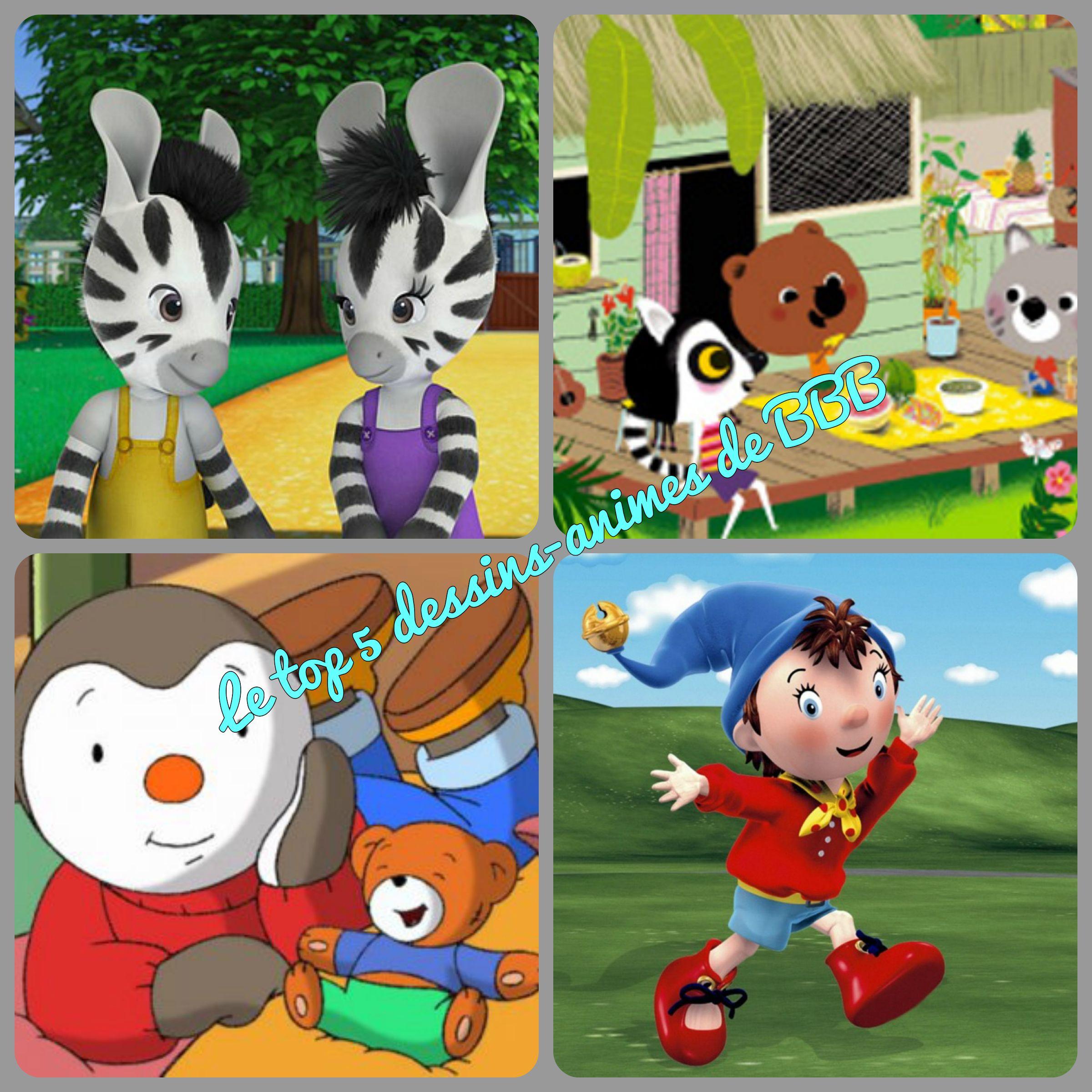 Top 5 dessin animé