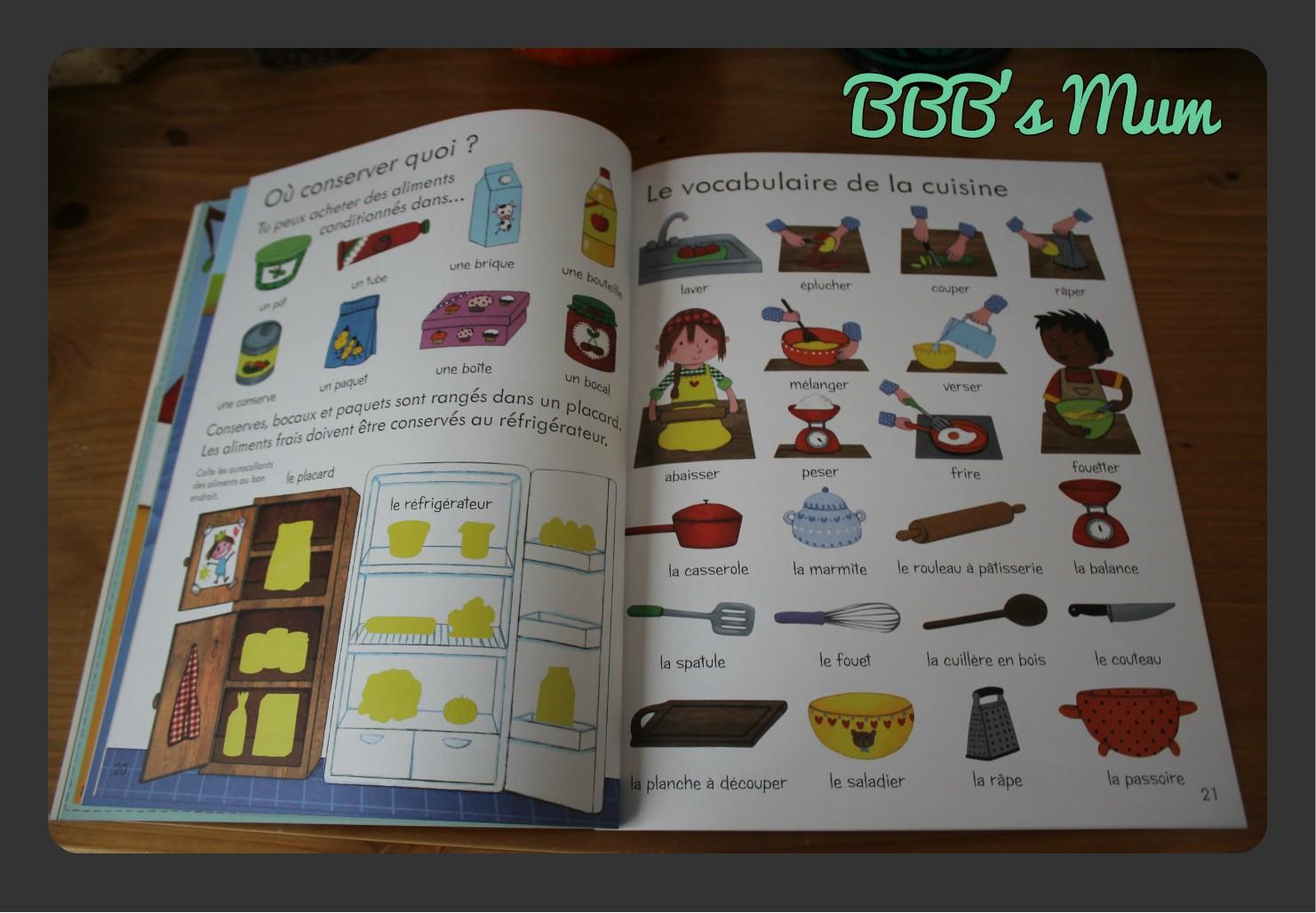 les aliments mon premier livre usborne bbb 39 s mum. Black Bedroom Furniture Sets. Home Design Ideas