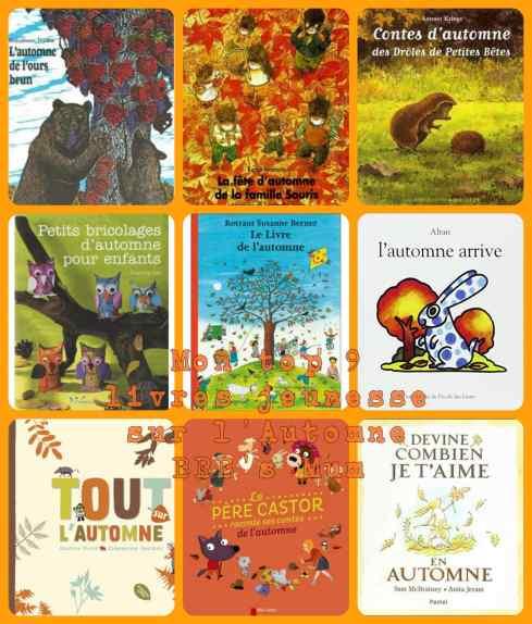 sélection livres automne bbbsmum
