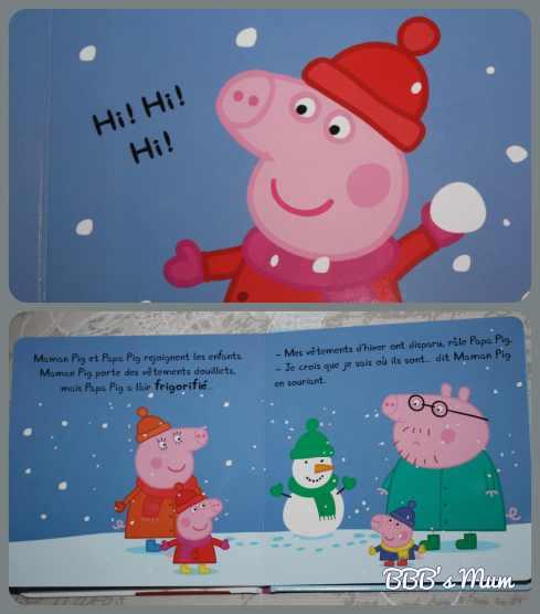 peppa fait un bonhomme de neige bbbsmum (3)