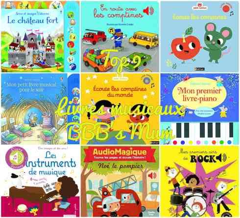 top 9 livres musicaux bbbsmum