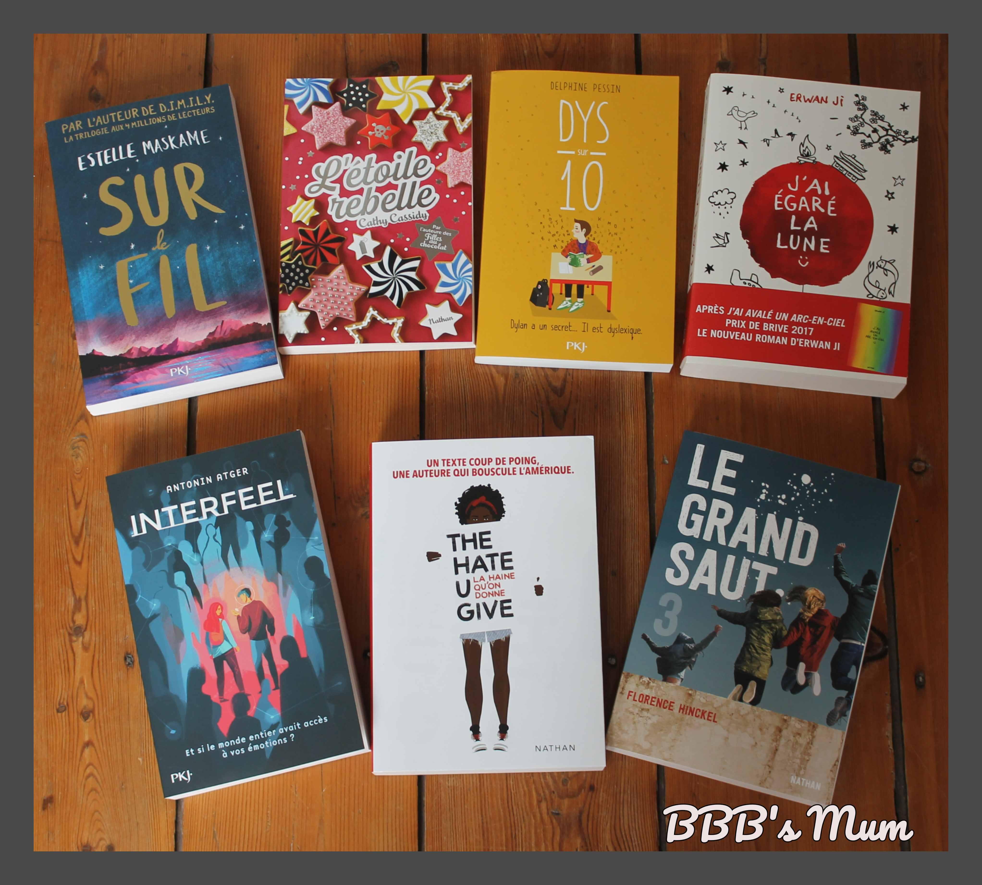 Selections Livres De L Ete 2018 01 Romans Ados Bbb S Mum